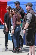 FLORIANA LIMA and CHERYL LEIGH Out in Vancouver 07/18/2017
