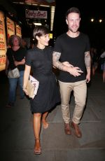 FRANKIE and Wayne BRIDGE Night Out in London 07/19/2017