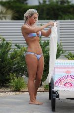 FRANKIE ESSEX in Bikini at a Pool in Ibiza 07/19/2017