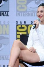 GAL GADOT at Warner Bros. Pictures Presentation at Comic-con in San Diego 07/22/2017