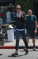GAL GADOT Out and About in West Hollywood 07/06/2017