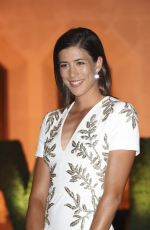 GARBINE MUGURUZA at Wimbledon Champions Dinner in London 07/16/2017