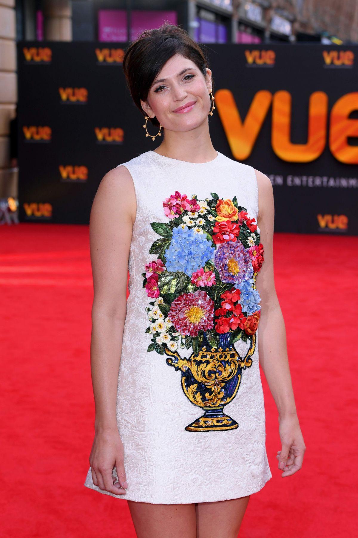 GEMMA ARTERTON at Vue West End Cinema Reopening in London 07/10/2017