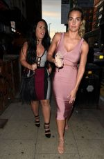 GEMMA ATKINSON Night Out in Manchester 07/08/2017