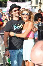 GEMMA OATEN at Pride Parade in London 07/08/2017