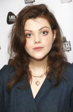 GEORGIE HENLEY at Access All Areas Premiere in London 07/01/2017