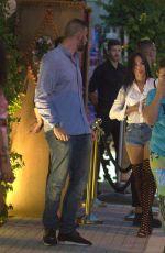 GEORGINA RODRIGUEZ and Cristiano Ronaldo Night Out in Ibiza 07/09/2017