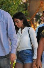 GEORGINA RODRIGUEZ Out for Dinner in Ibiza 07/09/2017