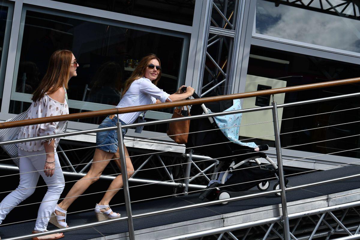 GERI HALLIWELL at Formula 1 Grand Prix in Spielberg 07/09/2017