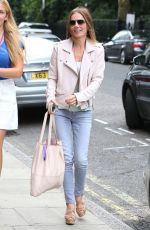 GERI HALLIWELL Out and About in London 07/19/2017