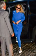 GIGI HADID Arrives at Her Home in New York 07/19/2017