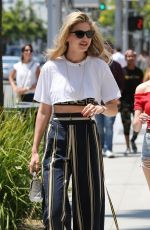 GIGI HADID Out and About in Beverly Hills 07/10/2017