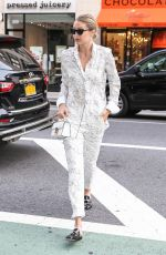 GIGI HADID Out and About in New York 07/17/2017