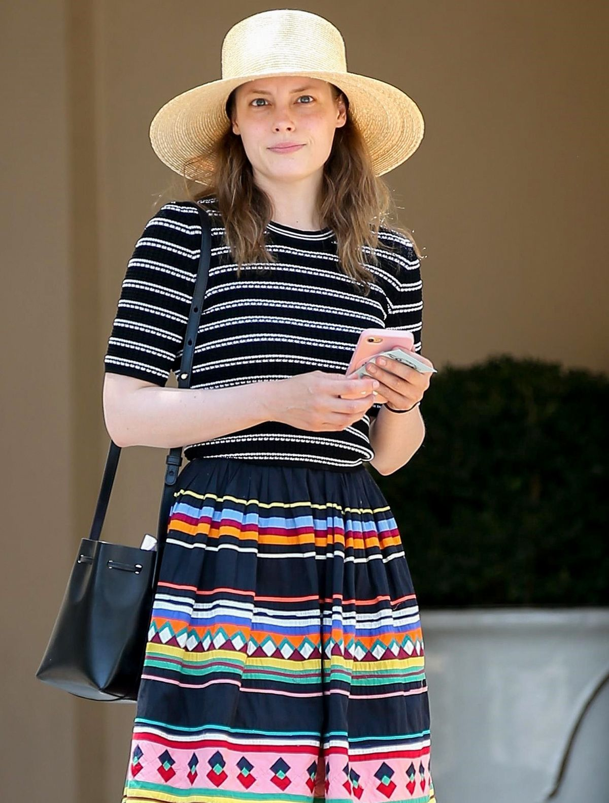 GILLIAN JACOBS Out and About in Beverly Hills 07/13/2017