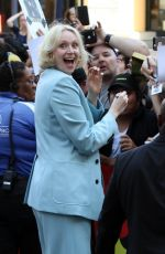 GWENDOLINE CHRISTIE Arrives at Comic-con in San Diego 07/21/2017