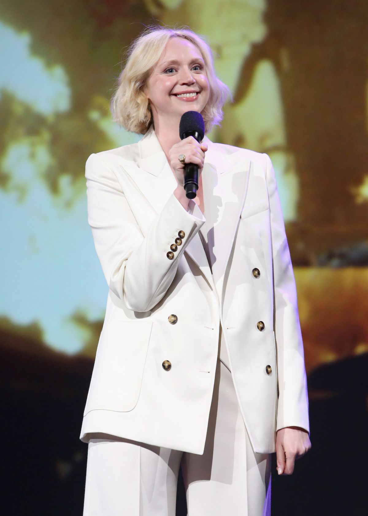 GWENDOLINE CHRISTIE at Disney's D23 Expo 2017 in Anaheim 07/15/2017   gwendoline-christie-at-disney-s-d23-expo-2017-in-anaheim-07-15-2017_4