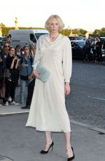 GWENDOLINE CHRISTIE at Miu Miu Cruise Collection Show in Paris 07/02/2017