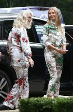 GWYNETH PALTROW Out and About in New York 07/20/2017