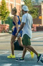 HAILEY BALDWIN Heading to a Gym in New York 07/18/2017