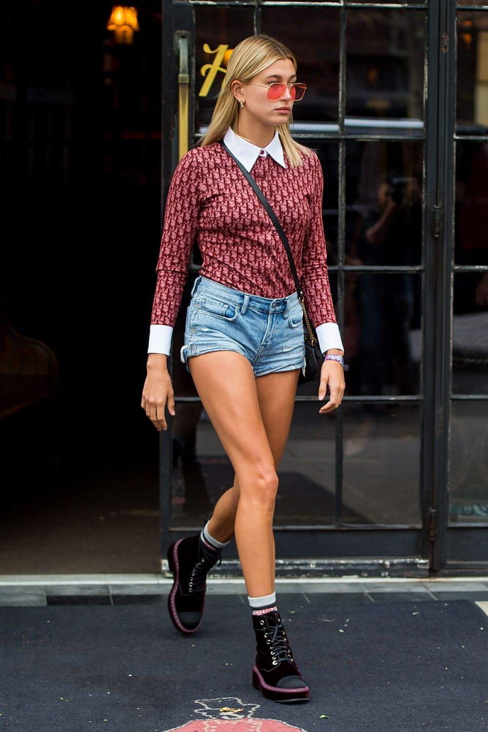 HAILEY BALDWIN Leaves Bowery Hotel in New York 07/29/2017