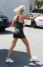 HAILEY BALDWIN Out and About in Los Angeles 07/27/2017