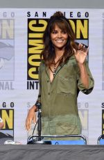 HALLE BERRY at Kingsman: The Secret Service Panel at Comic-con in San Diego 07/20/2017