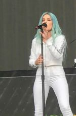 HALSEY Performs at Opening of Purpose Tour in Dublin 06/21/2017