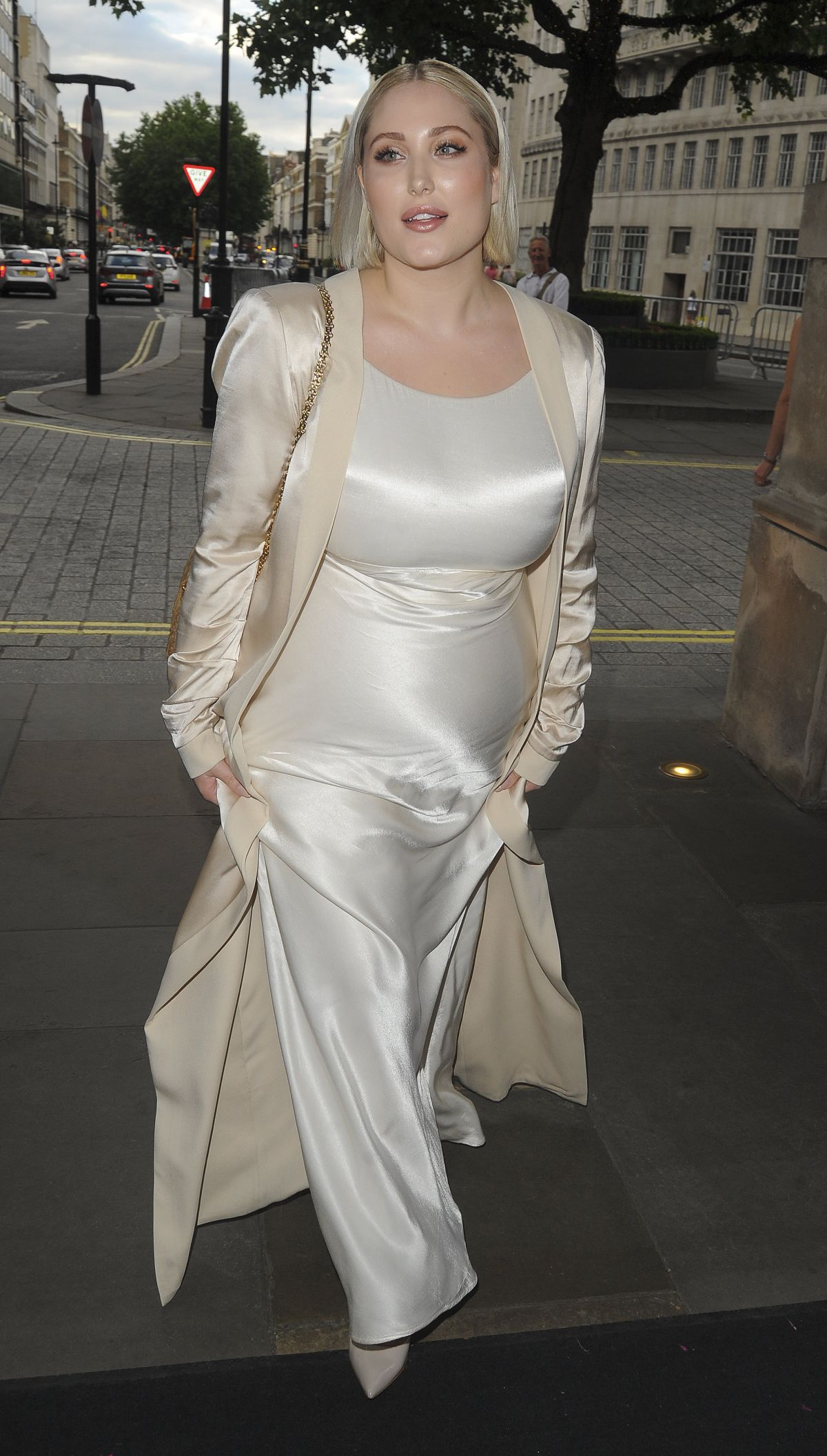 HAYLEY HASSELHOFF at Beauty Industry White Party in London 07/08/2017
