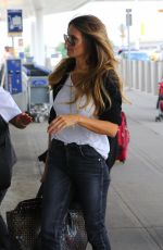 HEIDI KLUM Arrives at JFK Airport in New York 07/15/2017