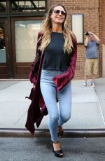 HEIDI KLUM in Jeans Out in New York 07/13/2017