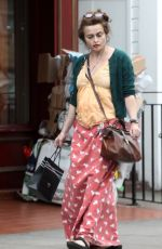 HELENA BONHAM CARTER Out in Primrose Hill 07/19/2017