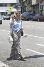 HILARY DUFF Leaves a Spa in Santa Monica 07/05/2017