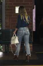 HILARY DUFF Out and About in Beverly Hills 07/28/2017