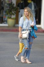 HILARY DUFF Out for Ice Cream in Los Angeles 07/05/2017