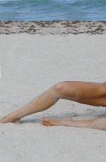JOY CORRIGAN in Bikini on the Set of a Photoshoot for Issa De Mar in Miami 07/24/2017