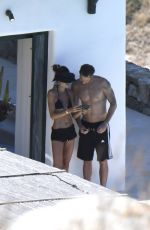 IZABEL GOULART and Kevin Trapp on Holiday in Mykonos 07/07/2017