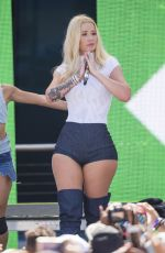 IGGY AZALEA Performs at Y100 Mack-a-poolooza Festival in Miami 07/15/2017