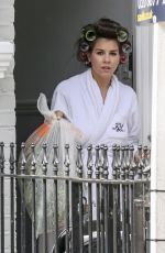 IMOGEN THOMAS at Her Home in London 07/19/2017