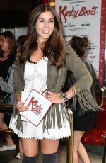 IMOGEN THOMAS at Kinky Boots Musical Press Night in London 07/20/2017