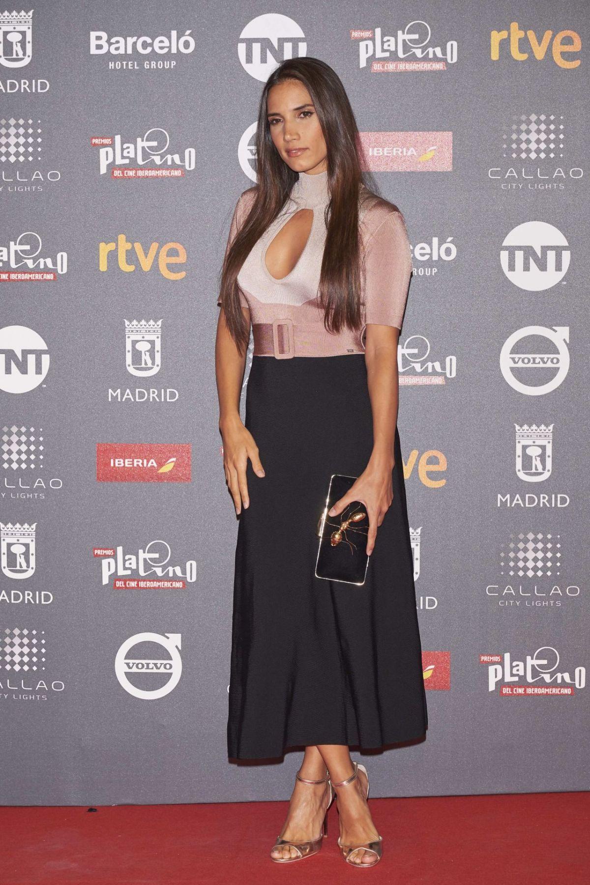 INDIA MARTINEZ at Platino Awards in Madrid 07/20/2017