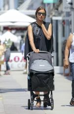 IRINA SHAYK Out Shopping in Los Angeles 07/27/2017
