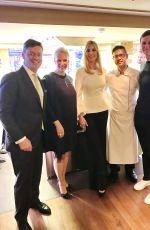 IVANKA TRUMP at Tomahawk Steaks at Nikkei Nine Restaurant in Hamburg 07/06/2017