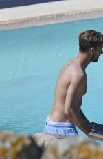 IZABEL GOULART and Kevin Trapp on Holiday in Mykonos 07/06/2017