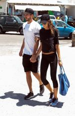 IZABEL GOULART and Kevin Trapp Out in Mykonos 07/07/2017