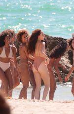 J LYNNE in Bikini at a Beach in Miami 07/23/2017