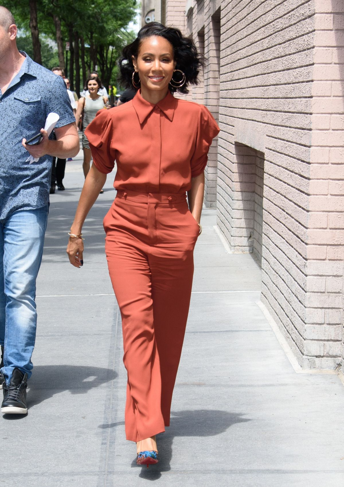 JADA PINKETT SMITH at The View in New York 07/17/2017