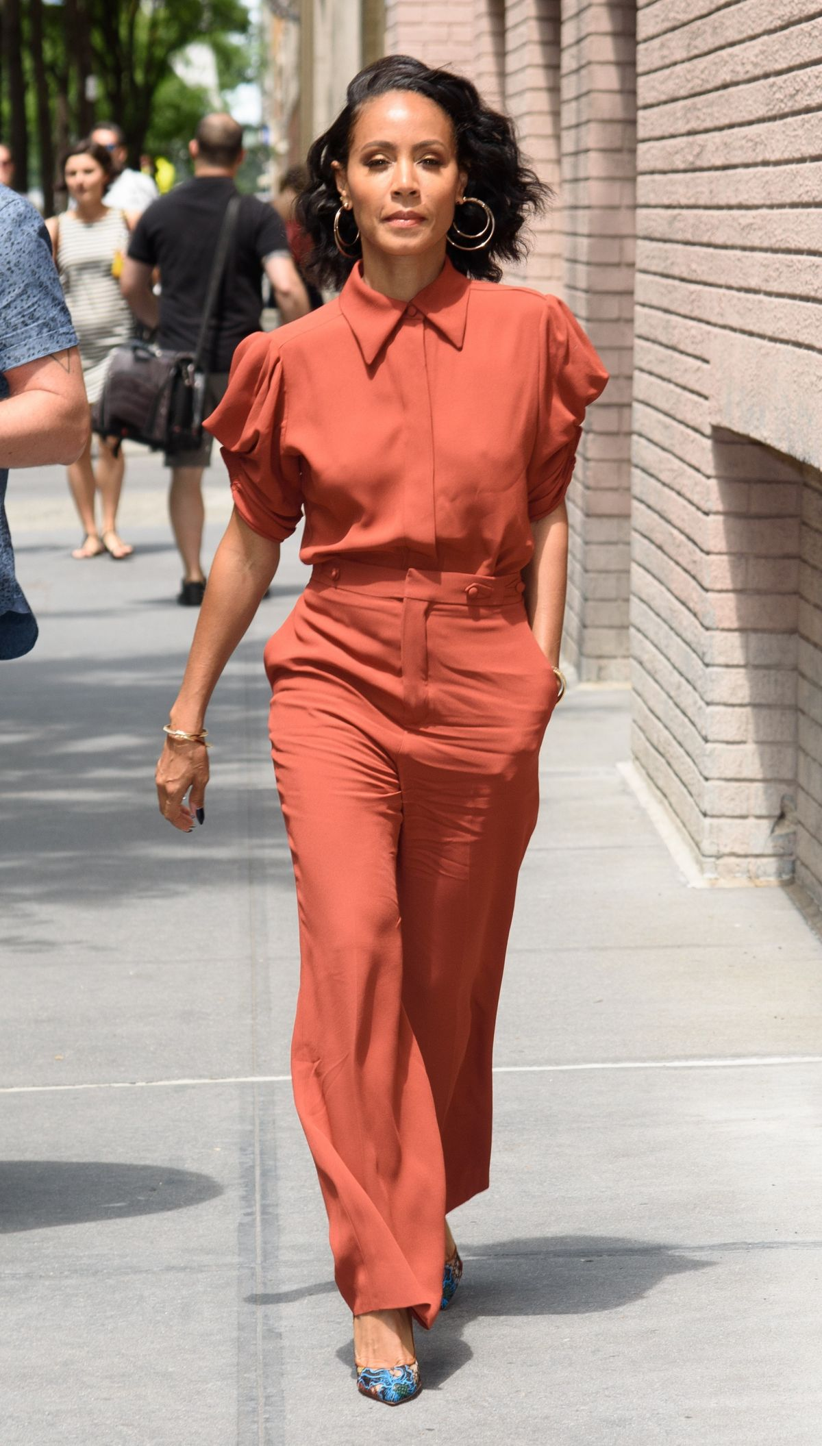 JADA PINKETT SMITH at The View in New York 07/17/2017 ...