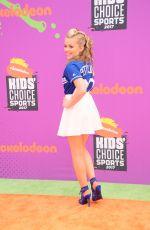 JADE PETTYJOHN at Nickelodeon Kids' Choice Sports Awards in Los Angeles 07/13/2017