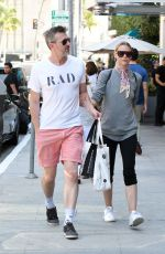 JAIME KING Out with Her Husband in Los Angeles 07/07/2017