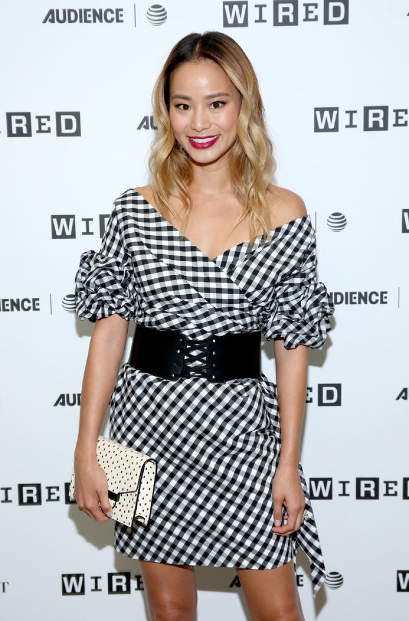 JAMIE CHUNG at Wired Cafe at Comic-con in San Diego 07/21/2017